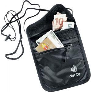 Deuter Security Wallet II - Porte-monnaie taille 18 x 14 cm, noir