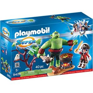 Playmobil 9409 Super 4 - Ogre géant avec Ruby