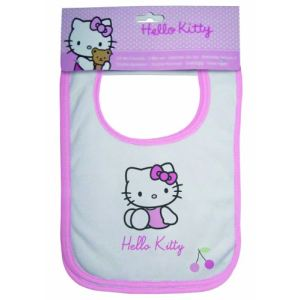 3 bavoirs Hello Kitty Coccinelle 31 x 21 cm