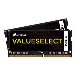 Corsair CMSO32GX4M2A2133C15 - Barrette mémoire Value Select SO-DIMM DDR4 32 Go (2 x 16 Go) 2133 MHz CL15