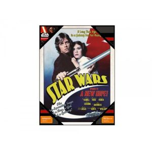 SD Toys Poster en verre Star Wars Luke And Leia (30 x 40 cm)