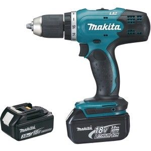 Makita DDF453SFE - Perceuse visseuse 18V Li-Ion + 2 batterie