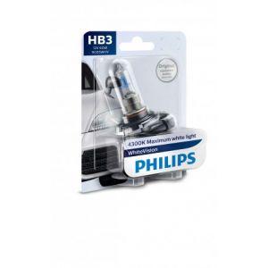 Philips 1 Ampoule HB3 WhiteVision 12V blister - 9005WHVB1