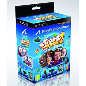 Sony Pack découverte PS Move + Start The Party ! Save the World