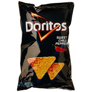 Doritos Sweet Chili Pepper Tortillas Chips de Maïs au Piment Doux 150 g