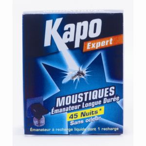 Kapo Expert - Emanateur électrique liquide anti-moustiques + 1 recharge