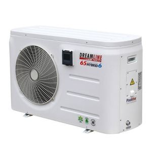 Poolstar Pompe à chaleur Dreamline Hybrid H60 monophasée 6+6