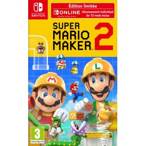 Jeu Switch Super Mario Maker 2 Edition Limitée [Switch]