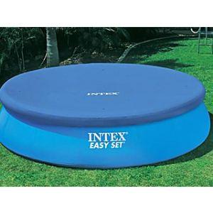 Intex 58938 - Bâche de protection Ø 2,84 m pour piscine autostable ronde Ø 3,05 m
