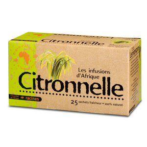 Racines Citronnelle - Infusion (25 sachets)