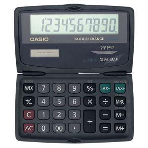 Casio SL-210TE - Calculatrice financière pliable