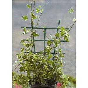 Intermas Gardening Tuteur échelle en PVC 28 cm