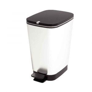 CEP Office Solutions Poubelle pédale plastique 45 litres gris