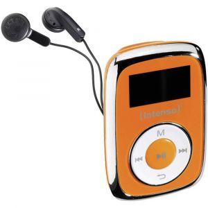 Intenso Music Mover Lecteur MP3 8 Go orange clip de fixation