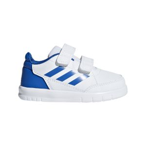 Adidas Chaussures casual AltaSport CF I Blanc/Bleu - Taille 21