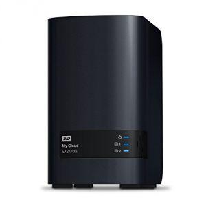Western Digital WDBVBZ0000NCH - My Cloud EX2 Ultra Boîtier NAS Externe 2 Baies USB 3.0/Gigabit Ethernet