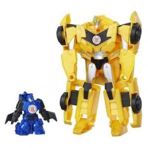Hasbro Figurine Transformers Combiner Force Bumblebee et Stuntwing
