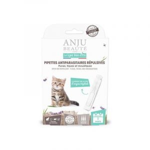 Anju Beauté Paris Pipette insectifuge pour chaton x 3