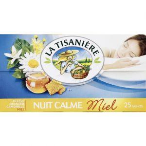 La Tisanière Plantes à infusion aromatisées, tilleul, oranger, miel et camomille