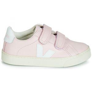 Veja Chaussures enfant ESPLAR SMALL VELCRO rose - Taille 28,29,30,31,34,35