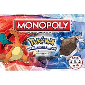 Hasbro Monopoly Pokemon Kanto édition