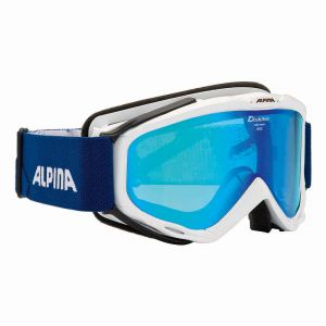 Alpina Spice Mm S40 Multi Mirror Blue/CAT2 - Masque de ski femme