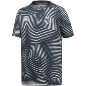 Adidas Real Madrid Pre Match 18/19 - Tech Onix / Core White - Taille 140