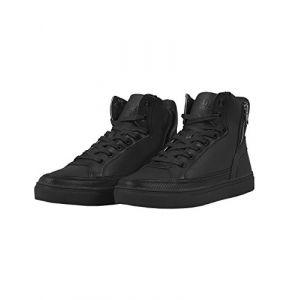 Urban classics Chaussures Chaussures montantes avec zip Noir - Taille 42,43,44,45,46,47 1/3