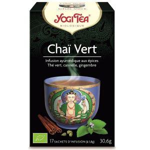 Yogi Tea Thé Green Chai - Boîte de 17 sachets
