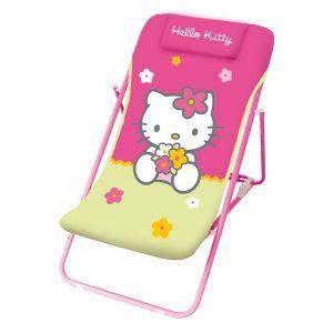 Chaise longue pour enfant Hello Kitty