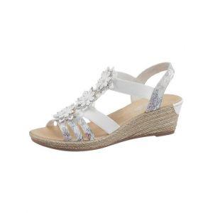 Rieker Schuhe Sunset-Alabama Ice Multi-White