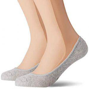 Puma Chaussettes et collants -underwear W Footie 2 Pack - Grey Melange - EU 35-38
