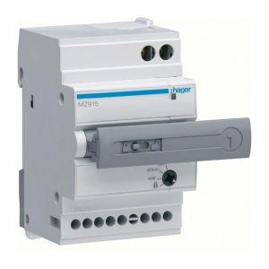 Hager Auxiliaire de télécommande et de réarmement automatique (MZ915)