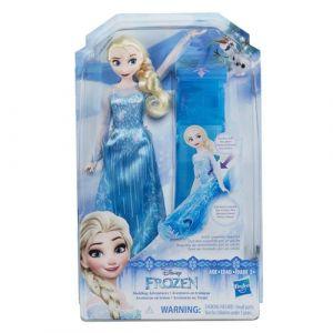 Hasbro La Reine des Neiges - Poupée Elsa avec son traîneau