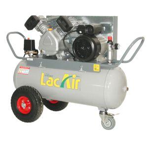 Lacme Twinair 17/50 M - Compresseur 50 litres 11 bar débit restitué 11.5 m3/h (462200)