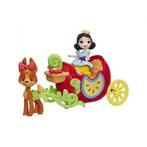 Hasbro Mini poupée Blanche Neige et son carrosse Disney Princesses
