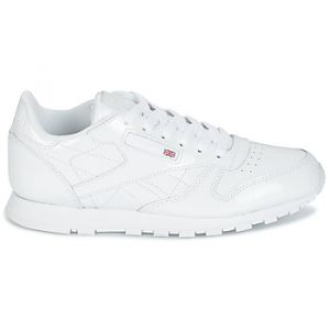 Reebok Chaussures enfant Classic CLASSIC LEATHER PATENT blanc - Taille 36