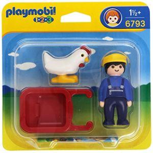 Playmobil 6793 - 1.2.3 : Fermier avec brouette