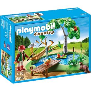 Playmobil 6816 Country - Angel étang