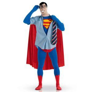 Déguisement seconde peau Superman homme