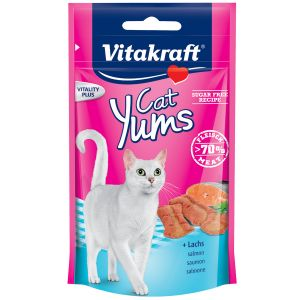 Vitakraft Friandises pour chat Cat Yums au saumon - Sac 40 g