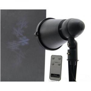 Kaemingk Projecteur laser Flocon de neige avec télécommande Blanc froid 4 LED