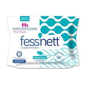 Fess'Nett Sensitive - Papier toilette humidifié - Peaux Irritées