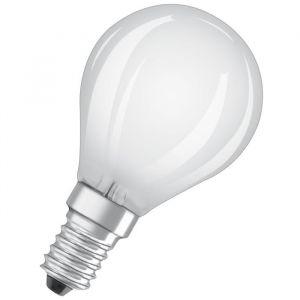 Osram Ampoule LED E14 sphérique dépolie 4 W équivalent a 40 W blanc froid