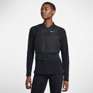 Nike Veste de Running Veste de running sans manches AeroLoft pour Femme - Noir - Taille L