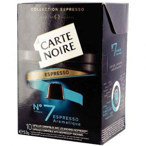 Carte Noire Capsules Espresso n°7 Classique x10 pour Nespresso