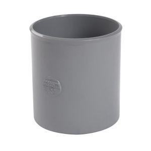 Nicoll MANCHON FEMELLE-FEMELLE - UM2T - PVC GRIS - Ø 100 MM