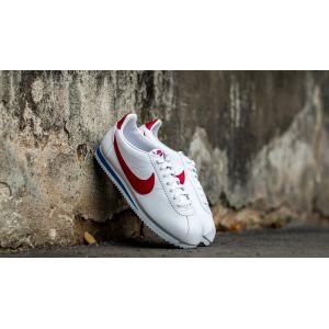 finest selection e95f9 b9402 Nike Classic Cortez Leather chaussures blanc rouge bleu 39 EU