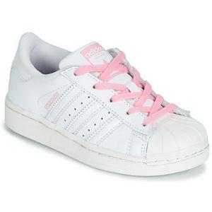 Adidas Chaussures enfant SUPERSTAR C blanc - Taille 34,33 1/2,31 1/2,28 1/2