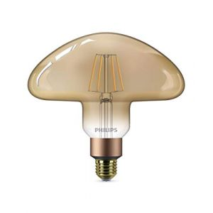 Philips lighting Philips Classic LEDbulb Vintage E27 Mushroom 5W 820 Dorée | Extra Blanc Chaud - Dimmable - Substitut 30W